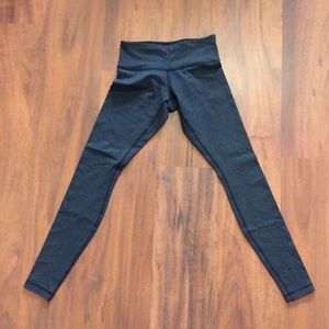 Lululemon Full Length blue and white leggings
